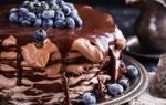Восхитительный Блинный торт с шоколадом — это просто божественно