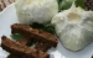 Запеченные шампиньоны с травами