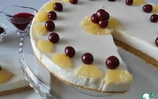 «Йогуртовый торт без выпечки»