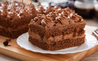 Быстрый шоколадный торт (очень вкусно и легко в приготовлении)