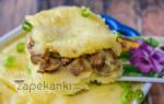 «Запеканка картофельная с грибами»