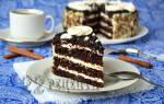Торт на кефире «Чёрный принц»