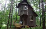 Микро-дом площадью 10 кв. метров.
