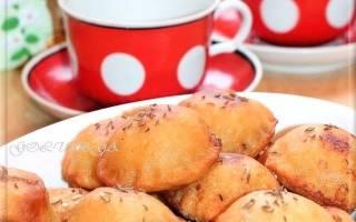 Жареные пирожки «Бомбочки» из заварного теста на кефире