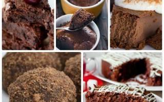 Шоколадный чизкейк для сладкоежек, сидящих на диете.
