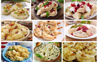 5 рецептов самых вкусных вареников