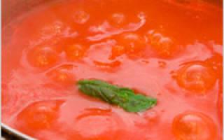 ТОР — 5 рецептов приготовления домашнего кетчупа…!!!
