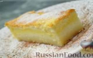Волшебство в духовке: Умное пирожное.