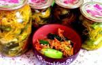 Салат на зиму «Огурцы по-корейски с морковью».