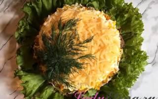 Супер-салатик с куриной печенью и маринованным огурцами!