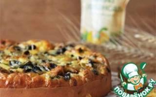 Мега грибной пирог Настоящая вкуснятина…