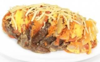 «Запеченное мясо по-итальянски»