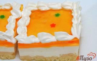 Желейные пирожные