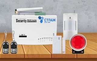 GSM-сигнализация для удаленного объекта, дачи, квартиры.