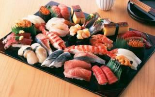 Блюда японского повара из рыбы!