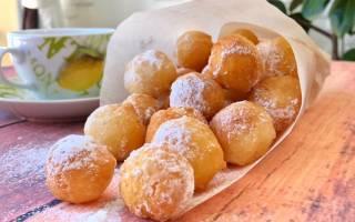 «Творожные пончики на скорую руку»