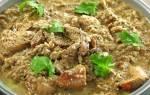 «Шашлык по-мирзаански» (грузинская кухня)