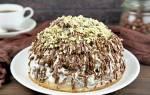 «Торт бисквитный Графские развалины»