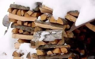 Лучшие дрова: как сделать выбор.