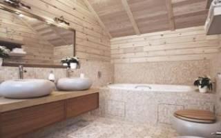 Гидроизоляция для ванной в деревянном доме