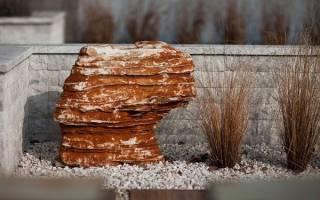 Вам нравится использование камней в ландшафтном дизайне