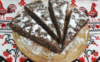 Пирог маковник: быстро, просто и невероятно вкусно