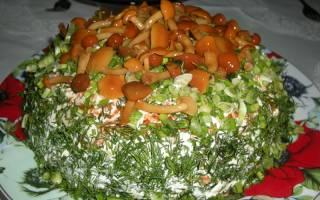 Салат «Опушка»