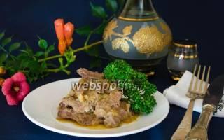 Нежная говядина в луковом соусе: готовлю так любое мясо (вкусно очень и совсем без жира)