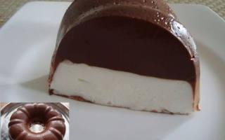 Кекс «Птичье молоко»