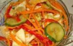 Рецепт «Маринованной капусты по корейски»