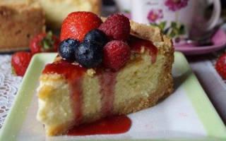 Фантастический творожный пирог «А-ля чизкейк»
