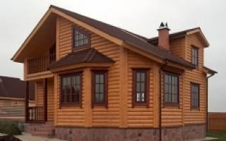 Обшить дом блок хаусом
