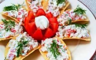 Закуска на чипсах: 7 вариантов оригинальной начинки