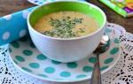«Грибной суп с сыром»