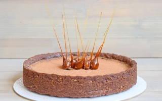 «Шоколадный тарт с фундуком»