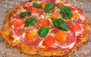 Вкусненькая Картофельная пицца