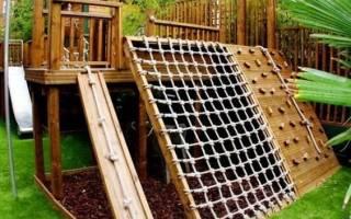 Интересный вариант детской площадки.