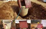 Как сделать глиняный замок для колодца