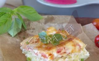 Запеканка из кабачков с фаршем и помидорами — обладенно вкусное блюдо для тонкой талии.