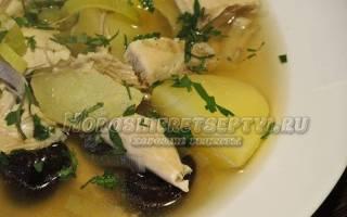 Шотландский суп с черносливом
