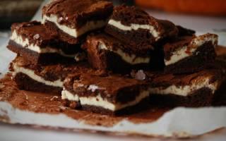 «Шоколадно-творожный пирог»