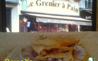 Французские пирожки из слоеного теста с мягким сыром и малиной