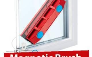 MAGNETIC BRUSH Магнитная щетка для мытья окон.