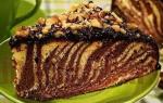 Самый лучший рецепт Торта «Зебра»