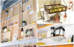 Строим откидную полочку для кухни