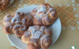 Воздушные кружевные булочки