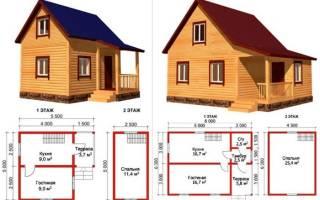 Недорогой маленький дом