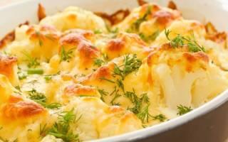 «Запеканка с цветной капустой для завтрака»