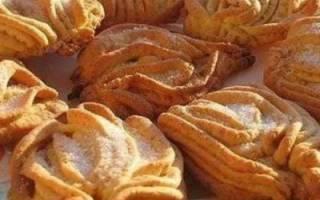 Печенье «Хризантемы» из детства.