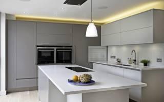 Кухня для минималистов.